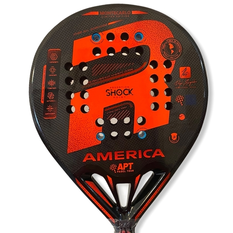 Paleta Padel Paddle Royal America Carbono + Regalos!