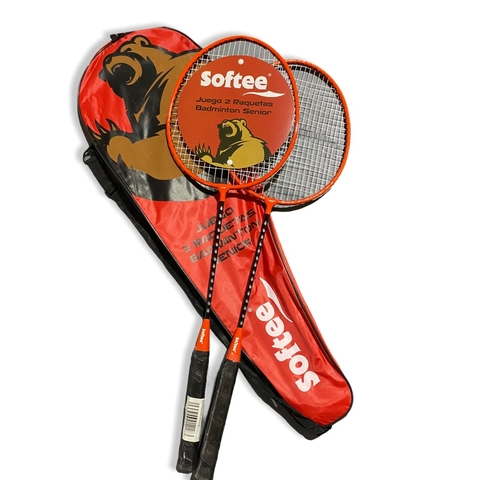 Set De Badminton Softee Adulto + Funda