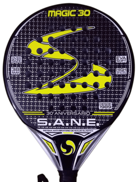 Paleta Padel Sane Magic 30 Aniversario Carbono 3k + Funda