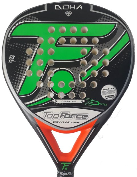Paleta Padel Top Force Doha Foam Y Eva