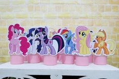 Kit 15 tubetes My Little Pony 3D - Festinha Legal