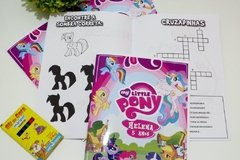 15 kits colorir revistinhas My Little Pony com giz e atividades na internet