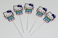 30 toppers Hello Kitty - Festinha Legal
