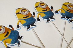 20 toppers Minions na internet