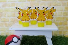 Kit 10 tubetes Pokemon Pikachu - comprar online