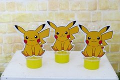Kit 10 tubetes Pokemon Pikachu na internet