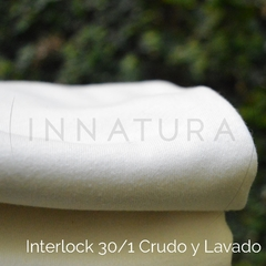 Kit PUL+Franela Cruda+INTERLOCK