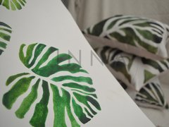 Pack x 3 Almohadones Casa Inspirada Monstera en internet