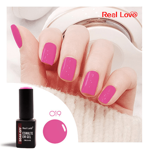 Esmalte Gel 12ml Cor 19 - Real Love