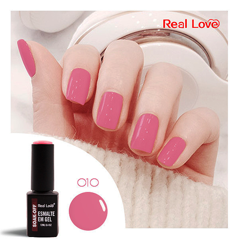 Esmalte Gel 12ml Cor 10 - Real Love