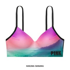 Corpiño PINK sunset sin costura push up