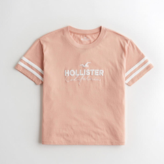 Remera HOLLISTER coral