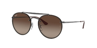 RAY BAN BLAZE ROUND DOUBLE BRIDGE3614N 914413 54