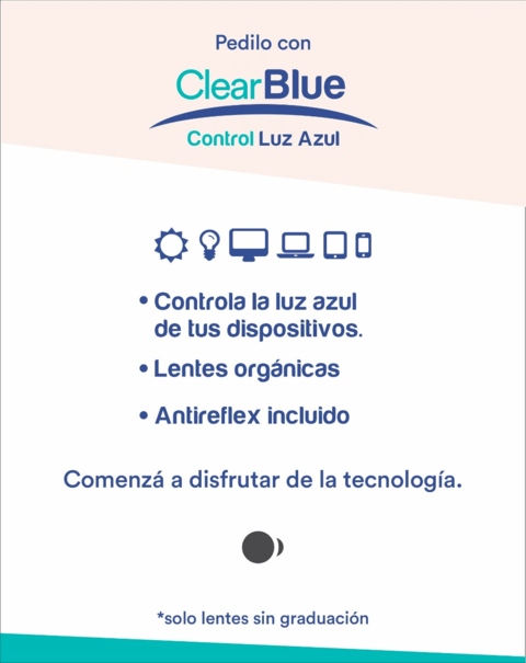 SENSE 8204 TRANSLUCENT ROSA + CLEAR BLUE - Tecni-Optica