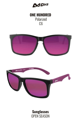 MOHS ONE HUNDRED C6 REVO VIOLETA POLARIZADO - comprar online