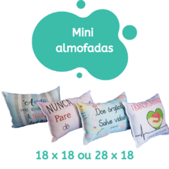 Banner da categoria Mini almofadas