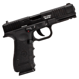 PISTOLA DE PRESSÃO A GÁS GBB CO2 W119 SLIDE METAL 4.5MM C/ BLOWBACK - WINGUN
