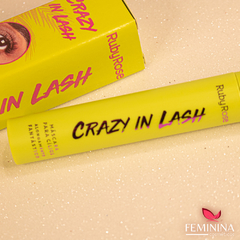 Máscara para Cílios Crazy In Lash e Lash Formation Ruby Rose