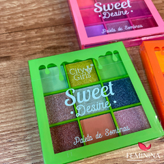 Paleta de Sombra Sweet Desire City Girls
