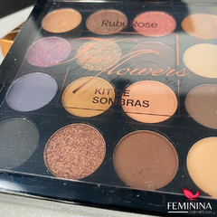 Paleta De Sombras The Flowers - Ruby Rose