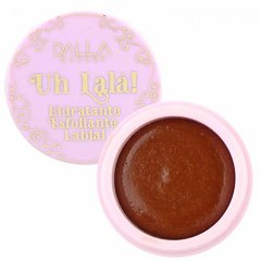 Uh Lalá! Hidratante Esfoliante Labial Dalla Makeup DL0814 - Chocolate Cake