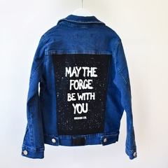 Campera Denim The Force Blue Kids - comprar online