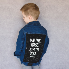 Campera Denim The Force Blue Kids