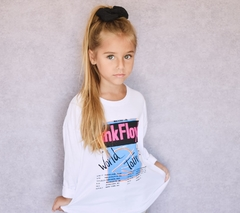 Remera Marty Pink Floyd Kids