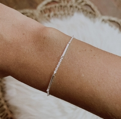 PULSERA ZARA REGULABLE (PLATA 925)
