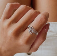 ANILLO ARROW (PLATA 925)