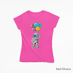 Baby Look - Camiseta Astrobalões - Canal da Ned - SPACE TODAY STORE