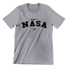 Camiseta Juvenil 10 ao 16 - Property Of NASA - SPACE TODAY STORE