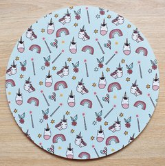 Base para torta 20 cm x 3 mm Unicornio