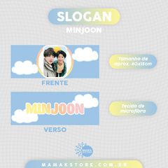 SLOGAN: MINJOON na internet