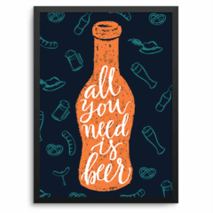 all you need is beer ! A PARTIR DE: