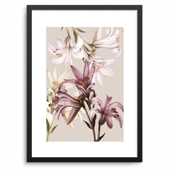 Quadro cream flower
