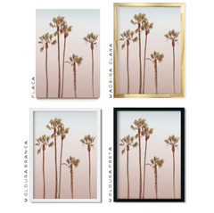 Quadro Rose palm - Inspira Decore