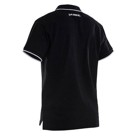 SALMING TEAM POLO BLACK MEN - comprar online