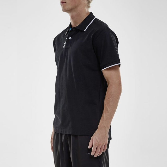 SALMING TEAM POLO BLACK MEN - Salming