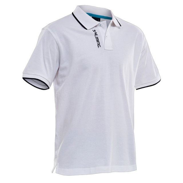 SALMING TEAM POLO WHITE MEN