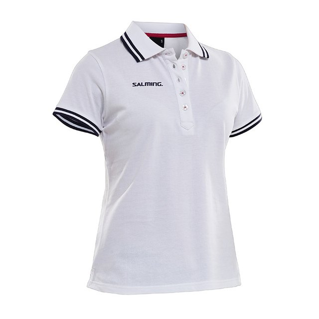SALMING TEAM POLO WHITE WOMEN