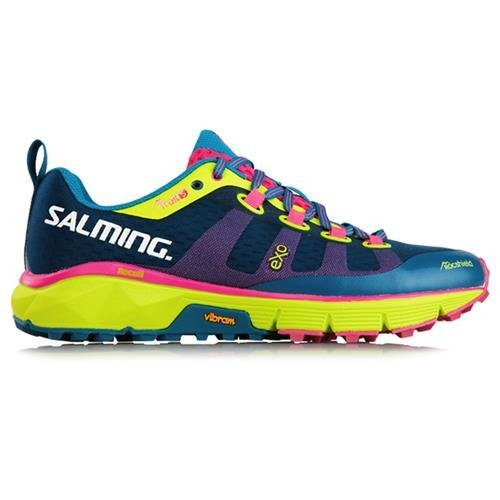 SALMING TRAIL 5 MUJER BLUE/FLUO YELLOW