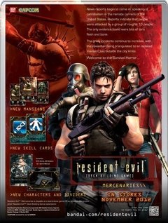 Resident Evil Deck Building Game: Mercenaries - Bandai - Importado na internet