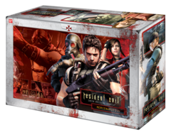 Resident Evil Deck Building Game: Mercenaries - Bandai - Importado