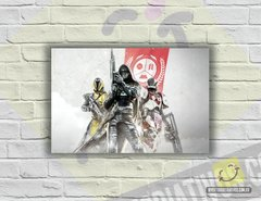 Placa Decorativa - Destiny 2 | Team
