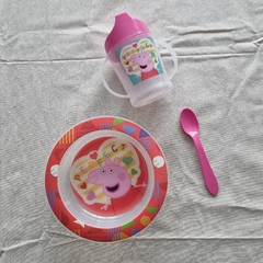 KIT SILLITA + SET DE COMER en internet