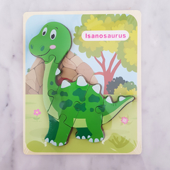 Dinos con relieve - Ay Chirin