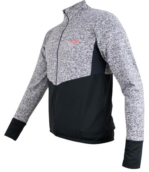 Jaqueta Peluciada Masc Marcio May Comfort Preta/Mescla