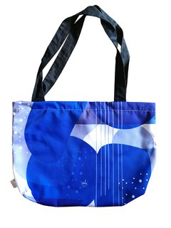 Tote bag Blue Frankfurt