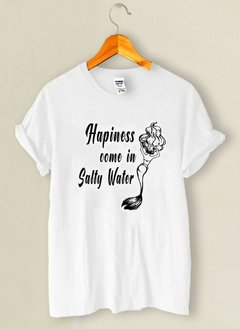 Camiseta Hapiness Come In Salty Water - comprar online